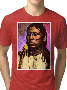 Satanta Kiowa War Chief Tri-blend T-Shirt