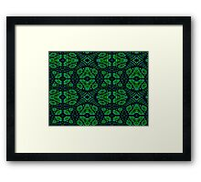 Emerald Isles ~ God Created The Land And The Seas Framed Print