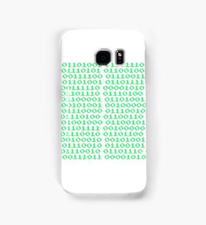 Ones and Zeros Samsung Galaxy Case/Skin