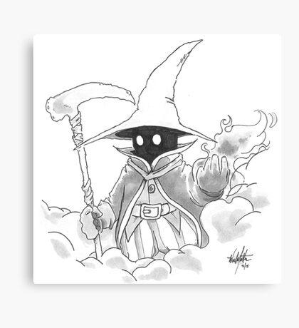 Black Mage Canvas Print