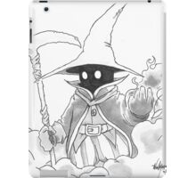 Black Mage iPad Case/Skin