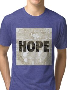 """""""Hope"""" by Manchester Orchestra Tri-blend T-Shirt"""