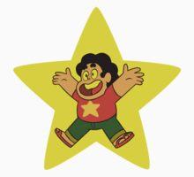 Steven Universe Star (w/ Steven) Baby Tee