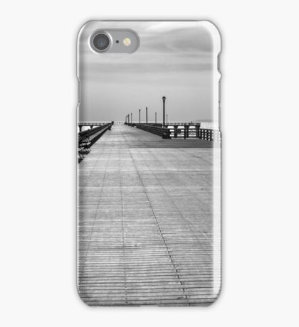 Coney island wharf iPhone Case/Skin