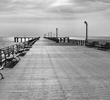 Coney island wharf by Kevin Hayden Paris