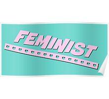 Feminist Design - Aqua Poster
