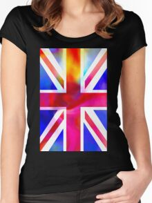 The Union Jack Women's Fitted Scoop T-Shirt