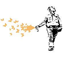 Policeman - Banksy Photographic Print