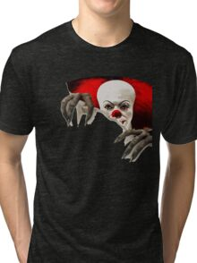 It-horror clown Tri-blend T-Shirt