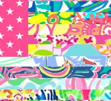United States of Lilly Pulitzer Sticker