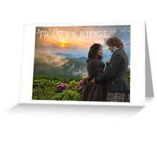 Outlander/Jamie & Claire on Fraser's Ridge/Diana Gabaldon Greeting Card
