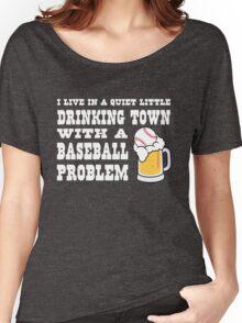 Baseball Drinking Town Women's Relaxed Fit T-Shirt