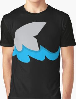Shark fin in the water Graphic T-Shirt