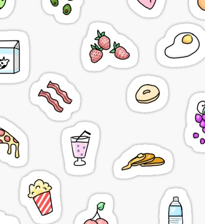 Foodie stickers Sticker