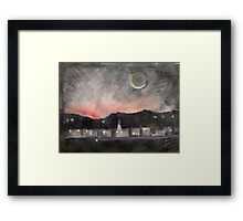Dawn Over Andover Framed Print