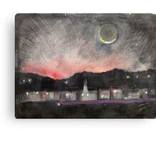 Dawn Over Andover Canvas Print