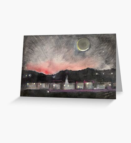 Dawn Over Andover Greeting Card