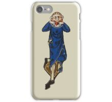 Wag grimace (medieval) iPhone Case/Skin
