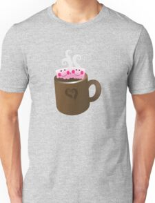 Cute Hot Chocolate with marshmallows Unisex T-Shirt
