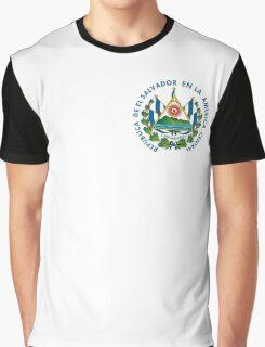 Escudo de El Salvador Graphic T-Shirt