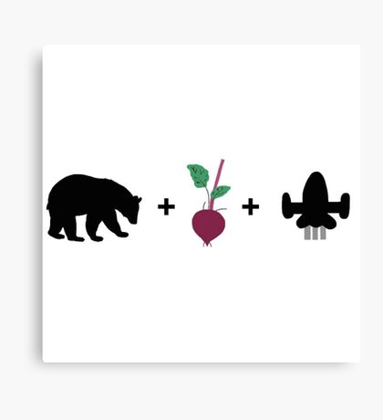 Bears. Beets. Battlestar Galactica. - The Office (U.S.) Canvas Print