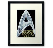 Star Trek Who Framed Print