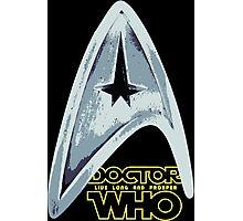 Star Trek Who Photographic Print
