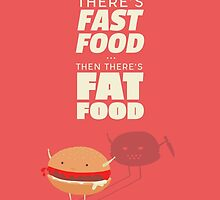 Fast fat food by rocioalb