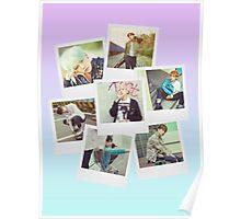 BTS Polaroid  V1 Poster