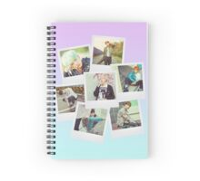 BTS Polaroid  V1 Spiral Notebook