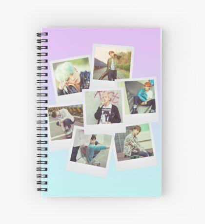 BTS Polaroid  V1 Spiral Notebook