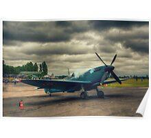 Reconnaissance Spitfire Fires Up Poster