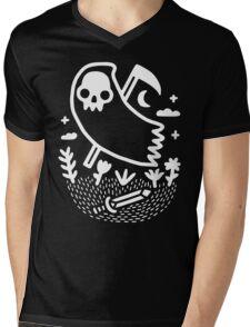 Another Grim Night Mens V-Neck T-Shirt