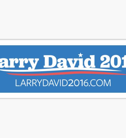 Larry David 2016 Bumper Sticker Sticker