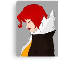 Red from Transistor Canvas Print