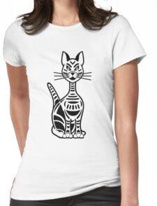 Savannah Black Womens Fitted T-Shirt