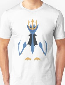 Slightly Inverted Minimalistic Empoleon  Unisex T-Shirt