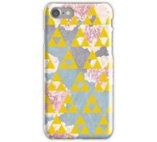 Yellow Triangles iPhone Case/Skin