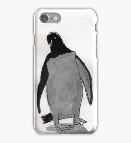 Evil Penguin iPhone Case/Skin