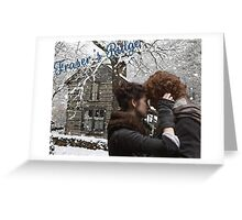 Outlander/Jamie & Claire on Fraser's Ridge Greeting Card
