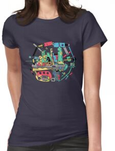City t-shirt Womens Fitted T-Shirt