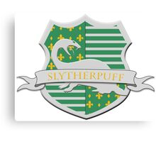 Slytherpuff Canvas Print