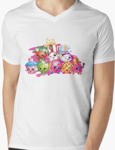 Shopkin Squad Mens V-Neck T-Shirt
