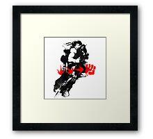 Senpai Framed Print