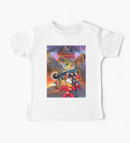 Defenders of the Earth Baby Tee