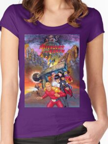 Defenders of the Earth Women's Fitted Scoop T-Shirt