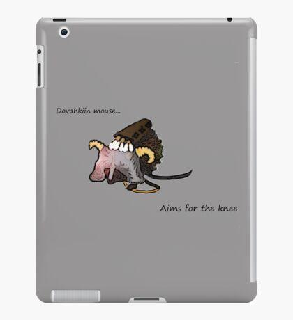 Dovahkiin Mouse iPad Case/Skin