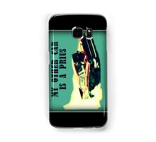 Dragster - My other car is a prius Samsung Galaxy Case/Skin
