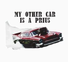 Dragster - My other car is a prius Kids Tee