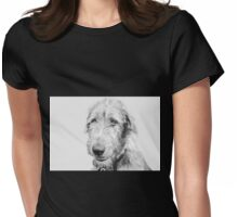 Wolfhound puppy Womens Fitted T-Shirt
